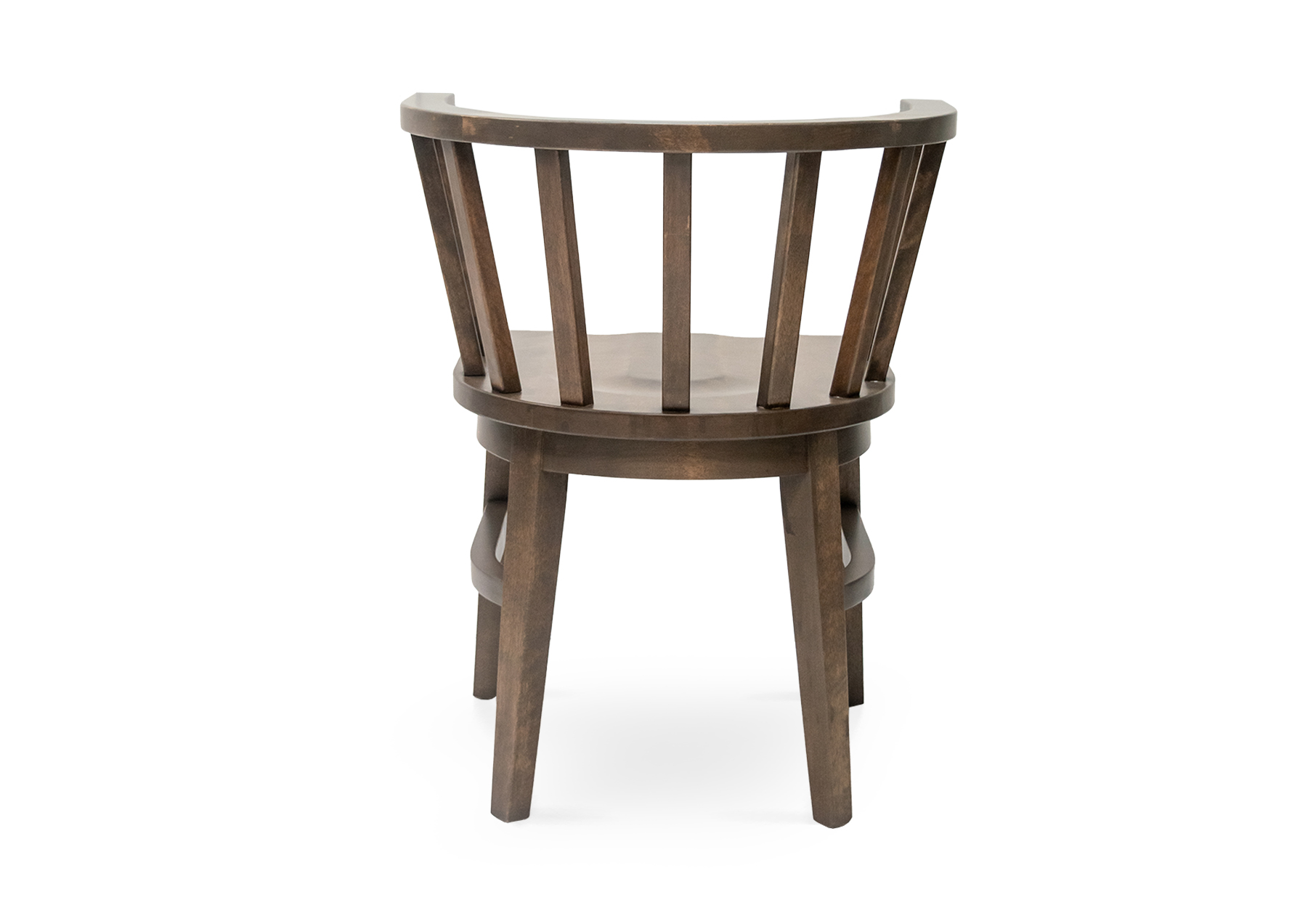 Oakland Wood Saddle Chair - B