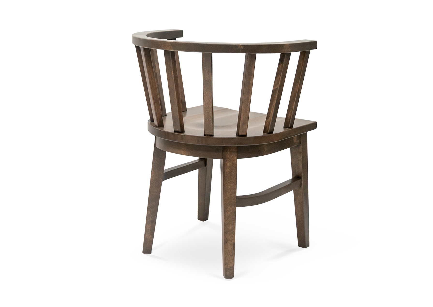 Oakland Wood Saddle Chair - BA