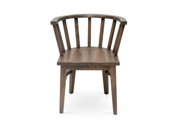 Oakland Wood Saddle Chair - F